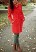 Кашемировое пальто - отличный выбор для модницы