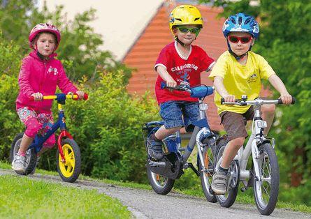 Как нужно выбирать детские велосипеды